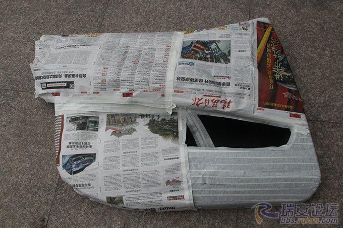 瑞安汽车音响改装 门板倒模 尾箱造型